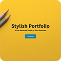 Stylish Portfolio Template icon
