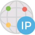 What is my public server IP icon
