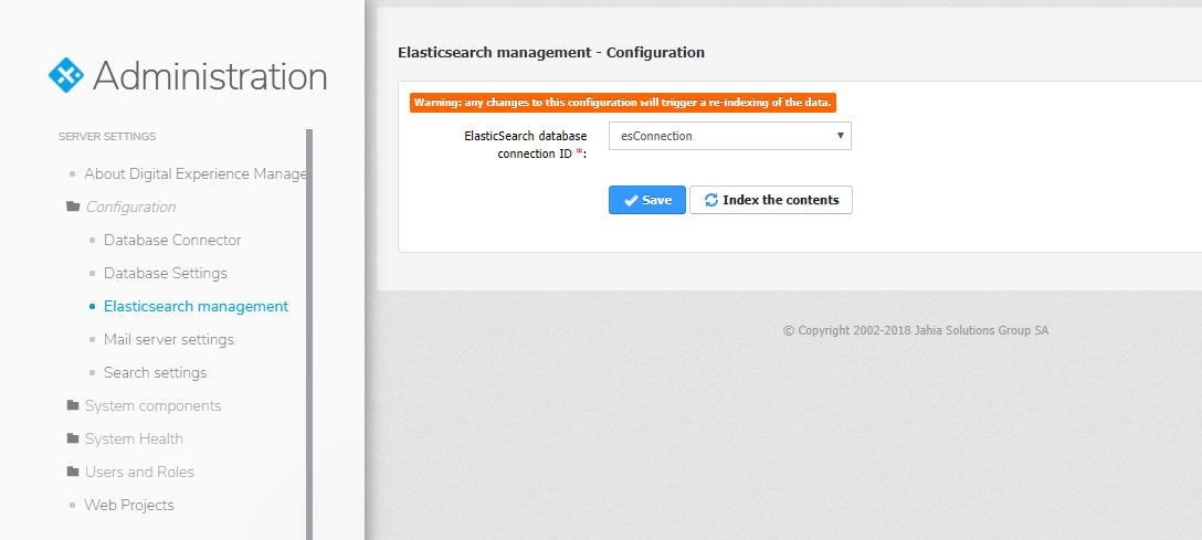 Elasticsearch Front-End Search - Enterprise Distribution